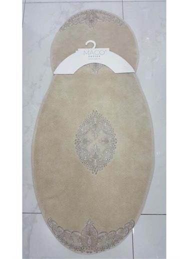 Maco Cotton Oval 2 Li Paspas Seti Bej Renkli